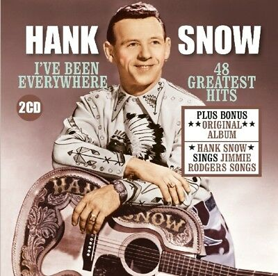 Hank Snow - Ive Been Everything CD (2) Factory Of Sounds NEW