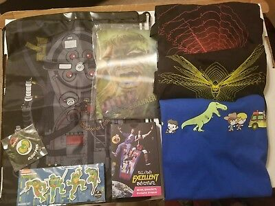 LOOT CRATE LOT new Items Jurassic PARK Ninja TURTLES Etc