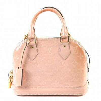 b448d2f72335 Louis Vuitton Vernis Alma BB M91585 Rose Gothenburg