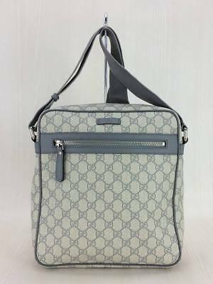 75c89f803dd8e7 GUCCI GG implementation main shoulder bag PVCGRY total handle 201448 493075