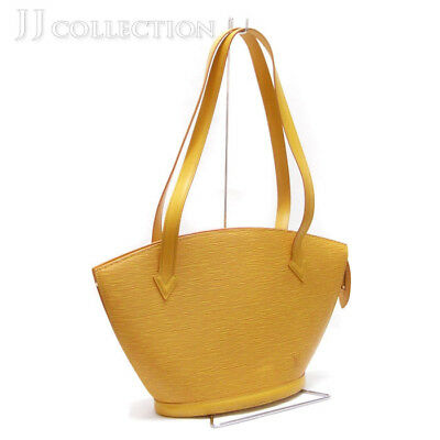 7eb1249d31b5 Louis Vuitton Saint-Jacques shopping shoulder bag epi Tassili yellow M52269
