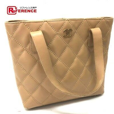 d4e7465b9a37 AUTHENTIC CHANEL CC Mark Wild Stitch Fringe Charm Shoulder Bag suede ...