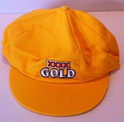 XXXX Gold Beer Gold Baggy Green Style Cricket Cap