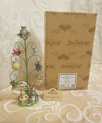 """Jim Shore """"Spring Flings and Summer Things"""" Tree wiith Ornaments #4057882 NEW"""