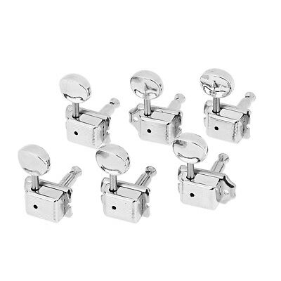 6R Inline Vintage Tuning Pegs Tuners Machine Heads For Fender Strat Stratocaster