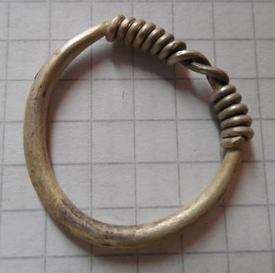 Celtic Period silver ring big size