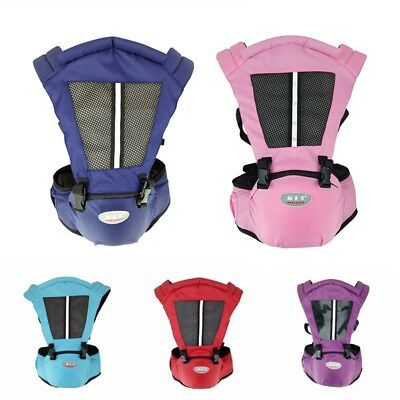 Mommy Baby Toddler Carrier Infant Backpack Hip Seat Easy Carrier Wrap Strap AU