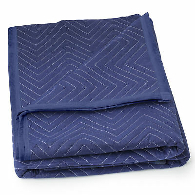 Set of 2 Professional Grade Quilted Moving Blankets Pads