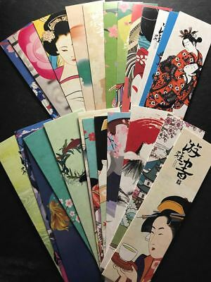 Japanese Style Bookmarks NEW 15cm * 4cm - Select from list