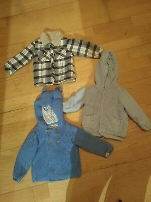 Baby boy 6-9 months winter jacket/thick cardigan Bundle