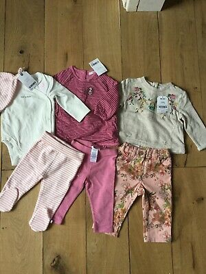 Next Baby Girls Brand New With Tags Clothes Bundle 3-6 Months