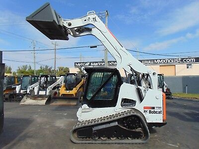 2012 Bobcat T-750 Turbo 2 Speed Wide Track - Air Conditioned Cab - Keyless Start