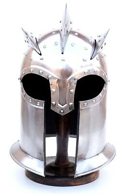 New Collectible Roman Medieval Centurion Armor Helmet Antique design Christmas..