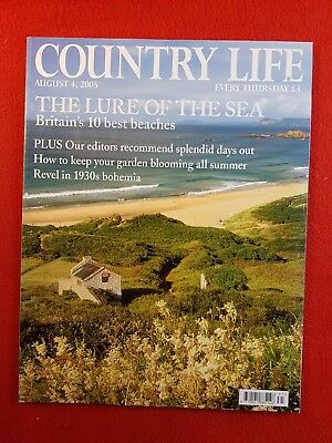 COUNTRY LIFE Magazine : 4th August 2005