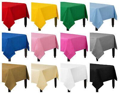 Disposable Paper Table Covers / Table Cloths 13 Colors Available