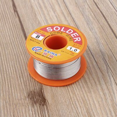 1mm Rosin Core Solder 63/37 Tin Lead Line Flux Welding Iron Wire Reel MT