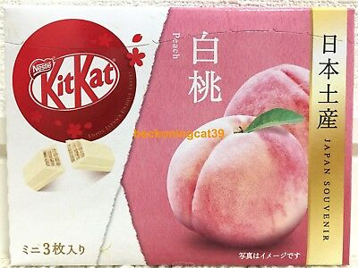 ONLY SELL AIRPORT Nestle Kitkat Kit Kat Chocolate Peach 3 mini bar 1 box JAPAN