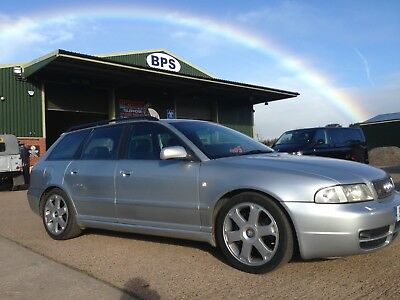1999 Audi B5 S4 2.7 Bi-turbo Quattro avant estate silver MANUAL 6 SPEED V6