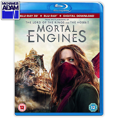 Mortal Engines 3D + 2D (Region Free) In Stock! Ships Next Business Day