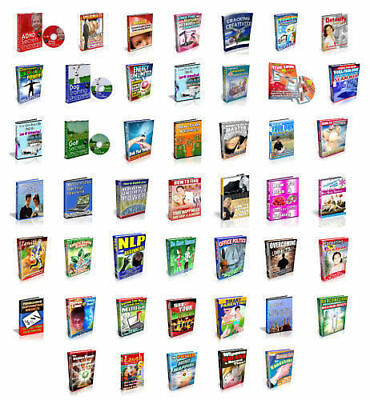47~SELF HELP~Self Improvement Audiobooks With Full Resale Resell Rights MP3/DVD