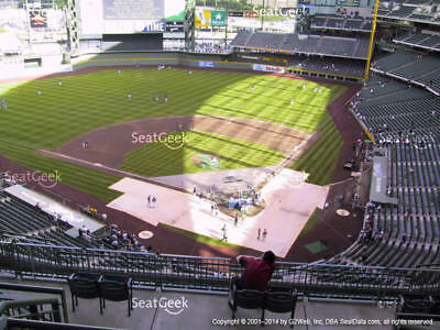 1-4 Pittsburgh Pirates @ Milwaukee Brewers 2019 Tickets! 6/8/19 Sec 423 Row 9!