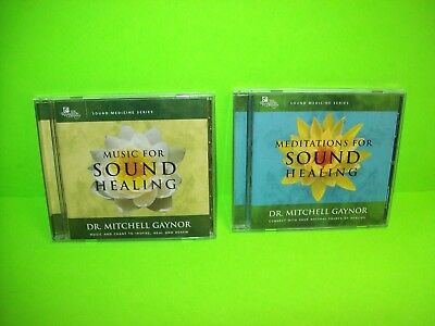 Set of (2) CDs Music For Sound Healing / Meditations For Sound Healing M. Gaynor