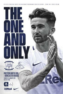 * 2018/19 - PRESTON NORTH END v DONCASTER ROVERS (FA CUP - 6th January 2019) *