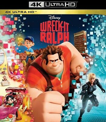 Wreck-It Ralph - Disney (4K Ultra HD, DISK ONLY)