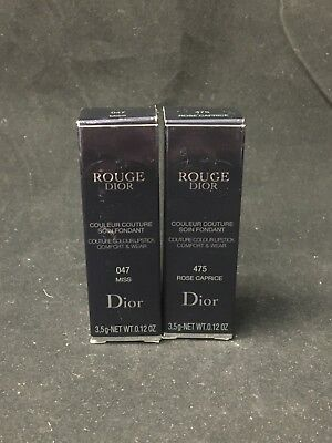 9898aa33 ROUGE DIOR COUTURE Colour Comfort & Wear Lipstick - $28.80 | PicClick
