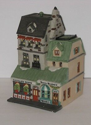 Department 56 THE CHOCOLATE SHOPPE - #5968-4 - CHRISTMAS IN THE CITY SERIES