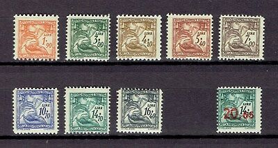 Italy Revenue Stamp Taxpaid Social Insurance Previdentia Sociale 9 different