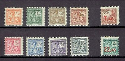 Italy Revenue Stamp Taxpaid Social Insurance Previdentia Sociale 10 different