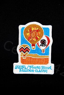 "PSA Airlines VINTAGE PATCH Fiesta Bowl Balloon Classic 3.75"" Gift NEW Perfect"