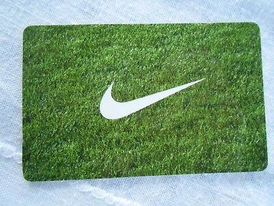 New NIKE  Gift Card -No Value- Collectible Memorabilia