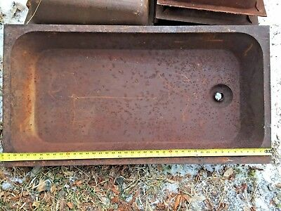 ANTIQUE LAUNDRY SINK Trough  Heavy  22x42