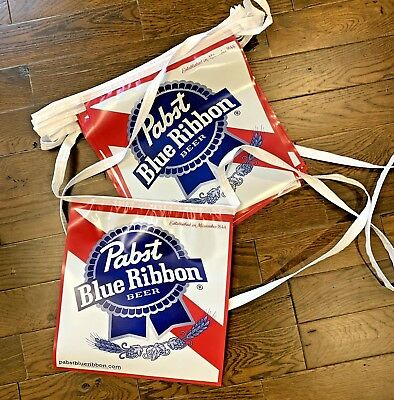 Pabst Blue Ribbon PBR Beer Banner Flags 20' Bar Sign BRAND NEW