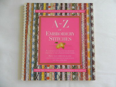 A - Z of Embroidery Stitches - Soft Cover