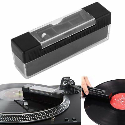 AU Vinyl Record Cleaning Brush Set Stylus Velvet Anti-static Cleaner Kit 2 in 1