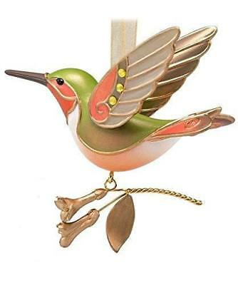2018 Hallmark HUMMINGBIRD Gold SURPRISE Mystery ORNAMENT