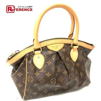 LOUIS VUITTON M40143 bag Tivoli PM Monogram handbags Canvas Brown (N1500 97771c835cce2