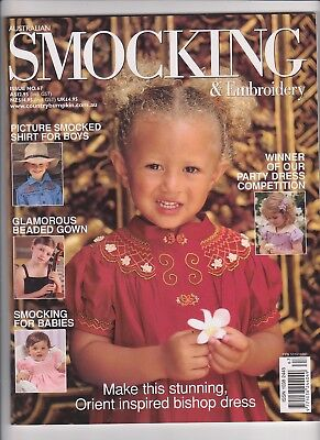 Australian Smocking & Embroidery - Issue No 67 -  2004 - Very Rare
