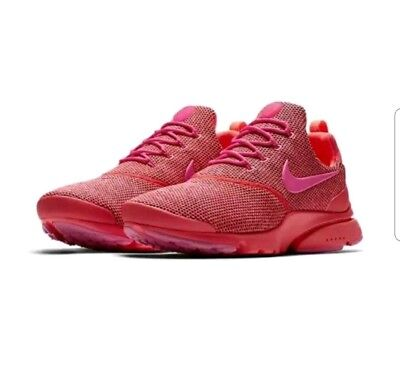 newest 37764 65187 NIKE PRESTO FLY SE Womens 910570-604 Hot Punch Pink Mesh Running Shoes Sz 8  NEW