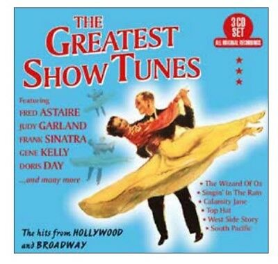 Various Artists - The Greatest Show Tunes 3 Cd Album New (30Th Nov)