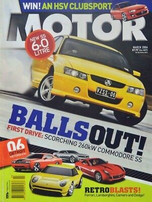 Motor Magazine - March 2006 - Balls Out!