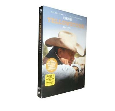 Yellowstone Season 1 (DVD, 2018, 4-Disc Set)brand new Free shipping