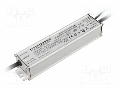 1 pcs Alimentation: à impulsions; LED; 52W; 19÷37V; 1400mA; 90÷305VAC