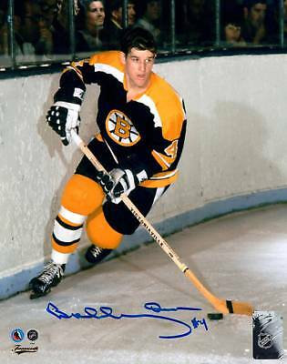 BOBBY ORR -  2 PHOTOS ( BOSTON BRUINS ) -  AWESOME 5 x 7 SIGNED PHOTO REPRINTS
