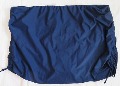 NWT Swimsuit Navy Blue Skirtini bottoms only Sz 24W