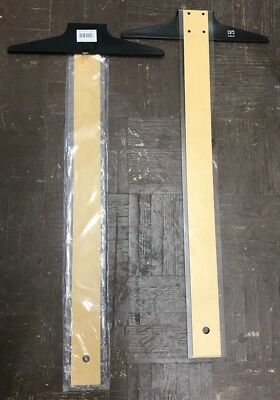 24 Inch T-Square, Acrylic Edge, Wood/Plastic - 3105-24 - Lot of 2! New!