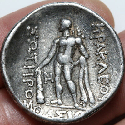 Greek Coin Silver Tetradrachm ISLANDS OFF THRACE Thasos. Ca. 2nd-1st cent. BC